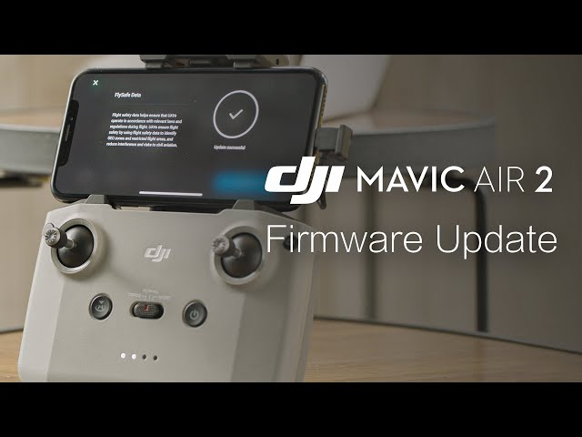 Mavic Air 2 | How to Update the Firmware