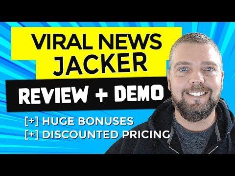 Viral News Jacker Review With Viral News Jacker Demo