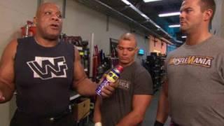 Raw: The Hart Dynasty and Yoshi Tatsu meet Tony Atlas