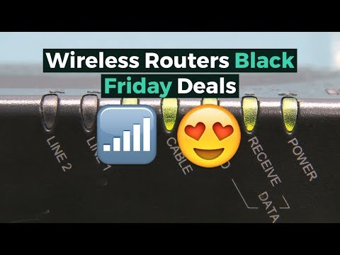 Wireless Routers Black Friday Deals 2018 -