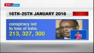 Former governor of Nairobi Evans Kidero court released him on a 2 million shillings cash bail