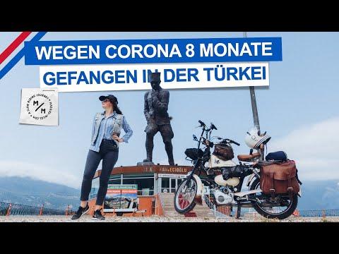 Mofaweltreise durch Corona 8 Monate in Türkei pausiert | Mit dem Mofa um die Welt