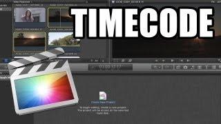 Final Cut Pro X - #31 - Timecode