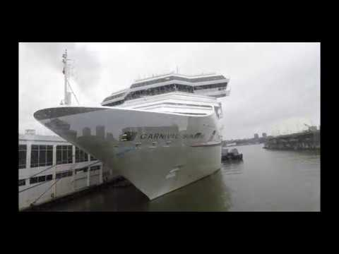 Manhattan Cruise Port - Checking in to Carnival Cruise