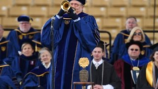 Notre Dame Commencement 2016: Arturo Sandoval Performs Ave Maria