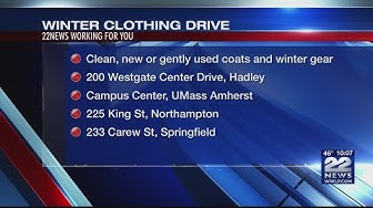 UMass Five Credit Union hosting clothing drive