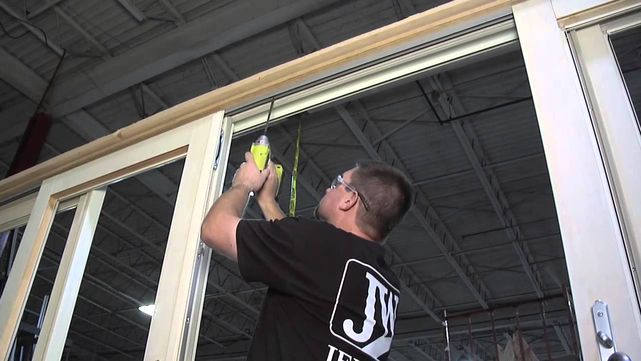 How To Adjust The Shoot Bolt Keeper On A Quad Wood Sliding Patio