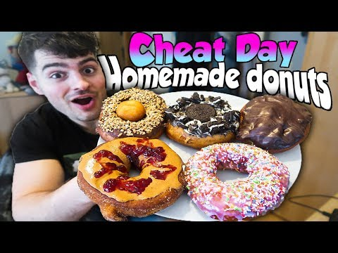 STORE BOUGHT DONUTS vs HOMEMADE DONUTS CHEAT DAY