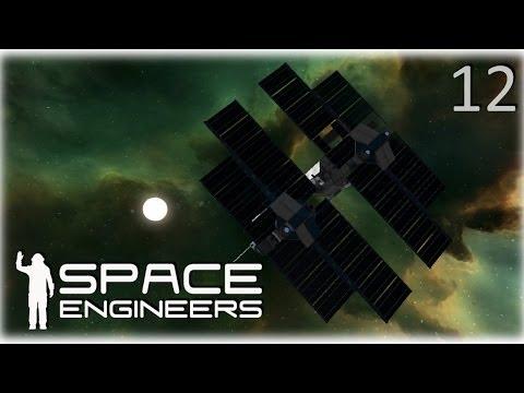 Space Engineers Co-op Survival - 12 - Ship Yard