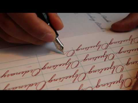 Spencerian Penmanship Day 22 Book 4 Page 1