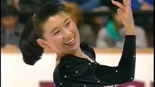 伊藤みどり Midori Ito 1991 NHK Trophy - Original Program - Tango Jalousie,  España Cañi
