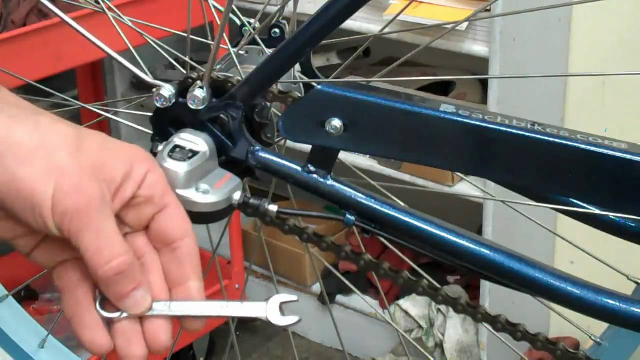 ef0bc2dc6e9 Beachbikes.com - Adjusting Shimano Nexus Internal 3 Speed on a Beach  Cruiser Bicycle - YouTube