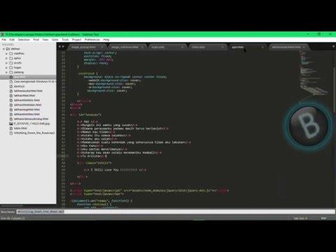 Latihan Memasukan Audio Pada HTML