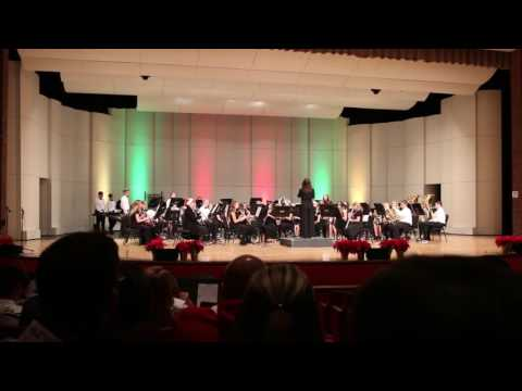 Pendleton Heights Middle School Band, 12-9-2016