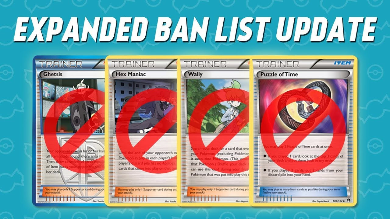 Pokemon TCG Expanded Ban List Update! Full Analysis & Discussion