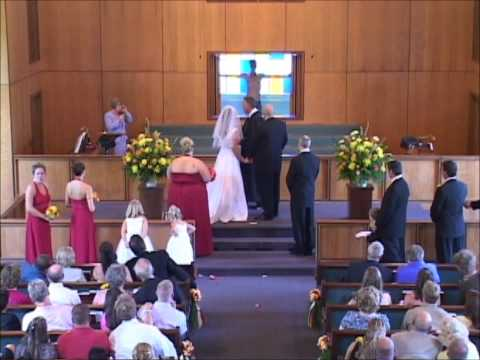 The Ace & TJ Show - Creep FLASHES Bride & Groom During Wedding Ceremony