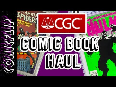CGC Graded Comic Book Haul #1 - comicflip
