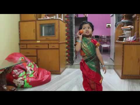 Cute Girl Acting On Model Shantabai