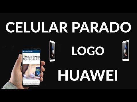 Mi Huawei se Queda Congelado en el logo