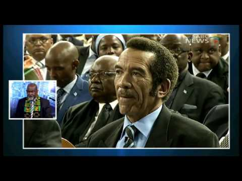 Question Time: Sir Ketumile Masire, 29 June 2017