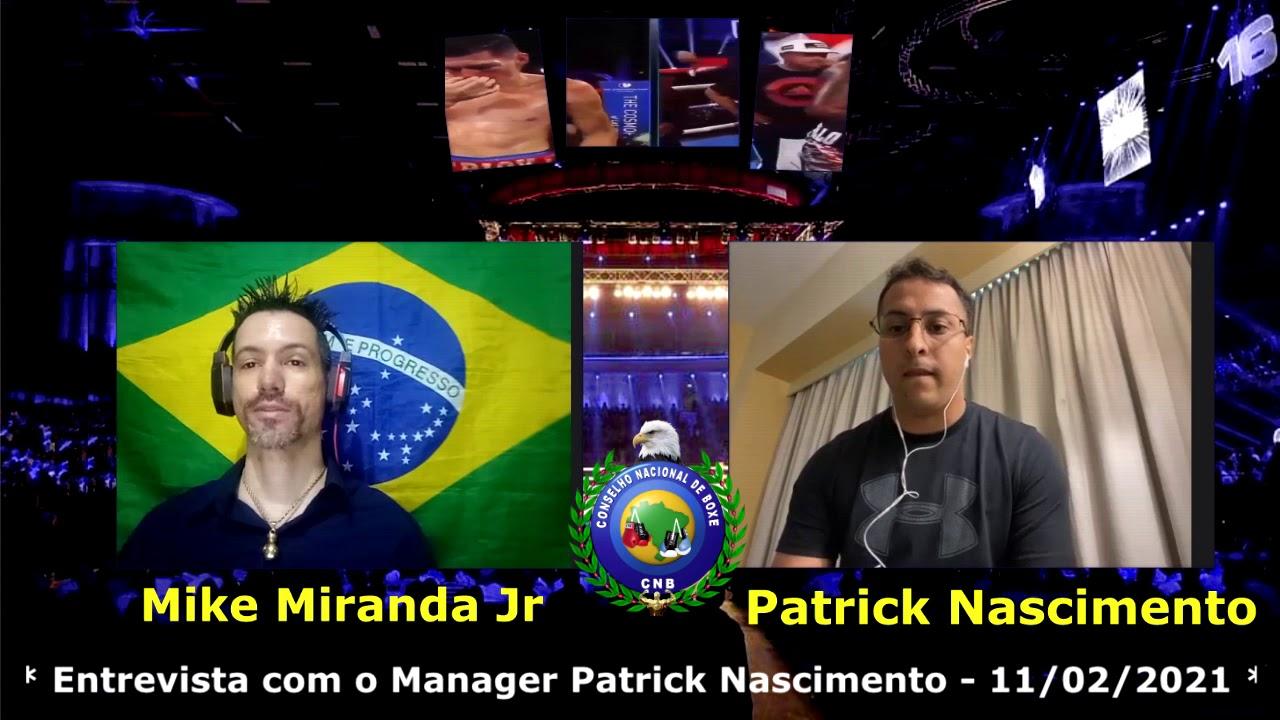 Entrevista com Patrick Nascimento