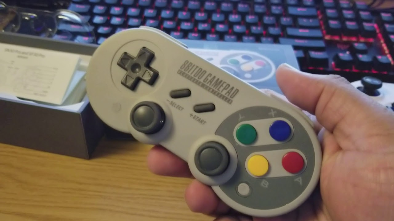 8Bitdo Pro controller SF30 review and rumble clarification/update