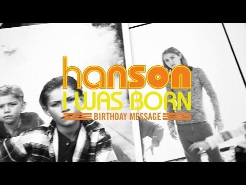 """I Was Born"" Birthday Message"