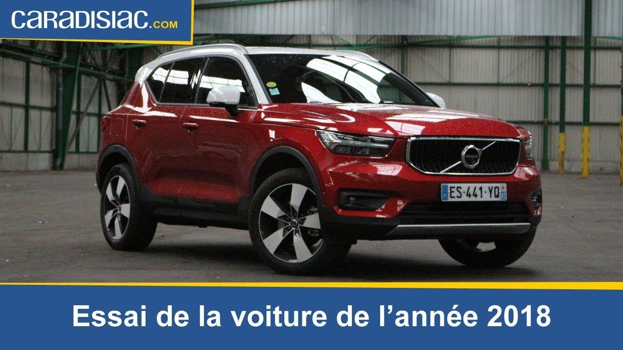 Essai Volvo Xc40 >> Volvo Xc 40 La Voiture De L Annee 2018 A L Essai Youtube