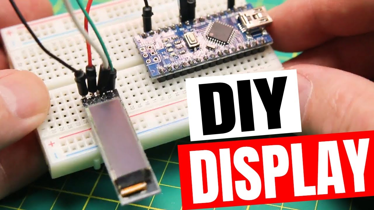 Electronics Basics Oled Display For Diy Projects Youtube Squishy Circuits On Pinterest Science And Self Arduino Makeradventures
