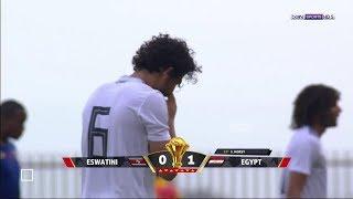 هدف منتخب مصر في سوازيلاند الهدف الثاني مروان محسن هدف روعه