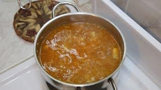 Суп из бараньих ребрышек с картофелем