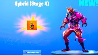 * NUEVO * EXHIBICENTE HÍBRIDO DE LA ETAPA FINAL..! (Etapa 4) Leaked Emotes - Fortnite Battle Royale