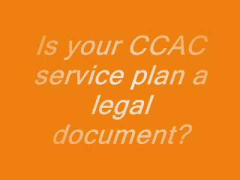 service plan, is it a legal document ?