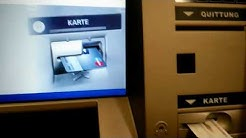 Withdraw Money on German ATM