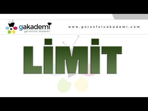 Limit |Lise Matematik Dersi