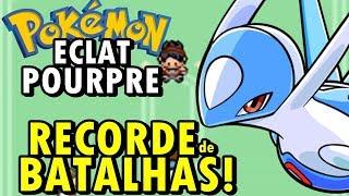 Pokémon Eclat Pourpre (Detonado - Parte 34) - RECORDE MUNDIAL DE BATALHAS EM 1 VÍDEO!