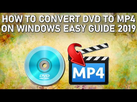How to Convert DVD to MP4 Guide 2019