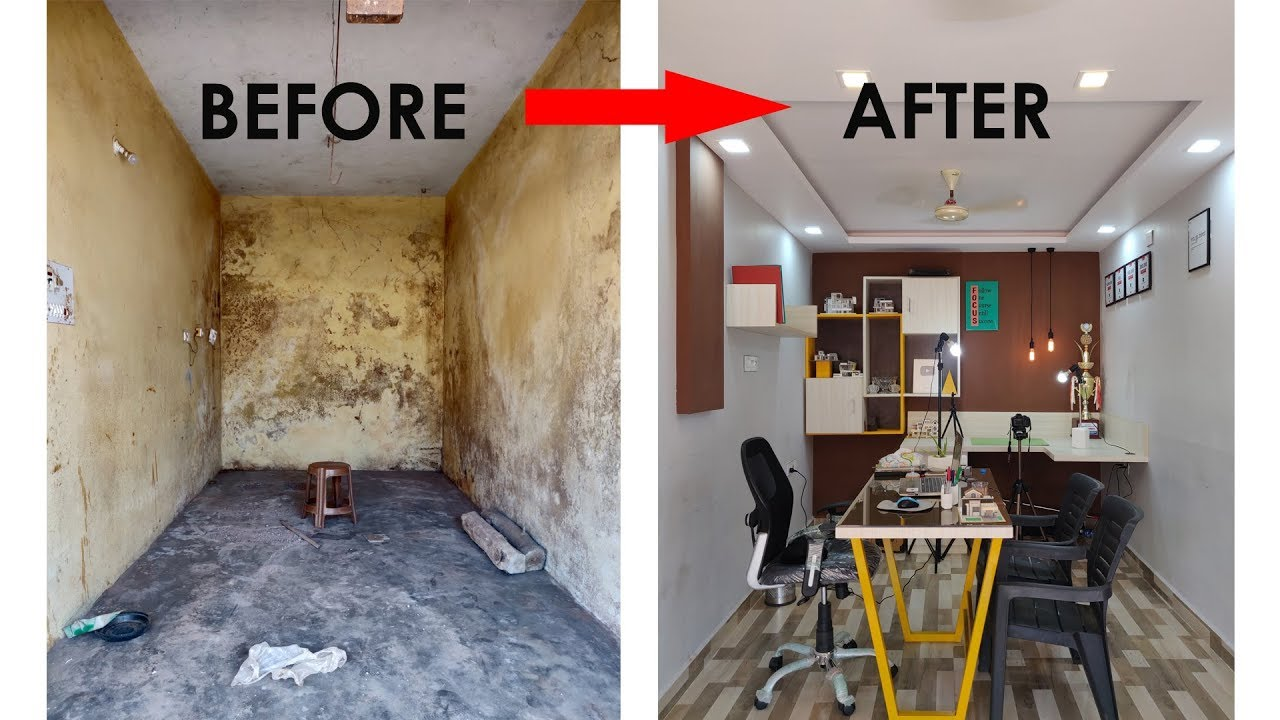 Office Restoration Architecture Interior Design Before After Sam E Studio Office Youtube