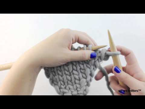 How to knit increases (Part I) | We Are Knitters