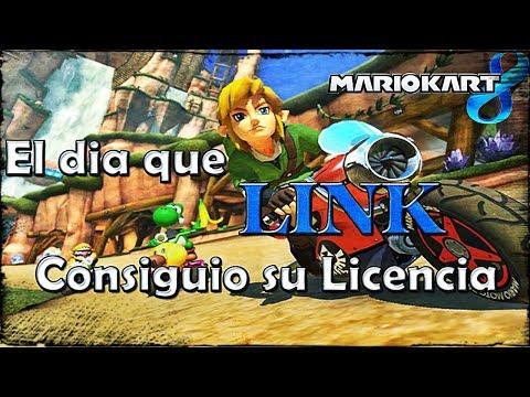 El dia que link consiguio su permiso de conducir - Mario Kart 8 (Loquendo)