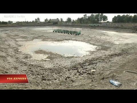 Chuyên gia cảnh báo Đồng bằng sông Cửu Long đối diện hạn hán kỷ lục (VOA)