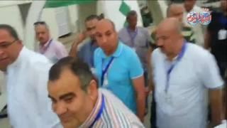 اشرف العربى يطلب زيارة سيدة مسنه من بعثة الحج المصرية