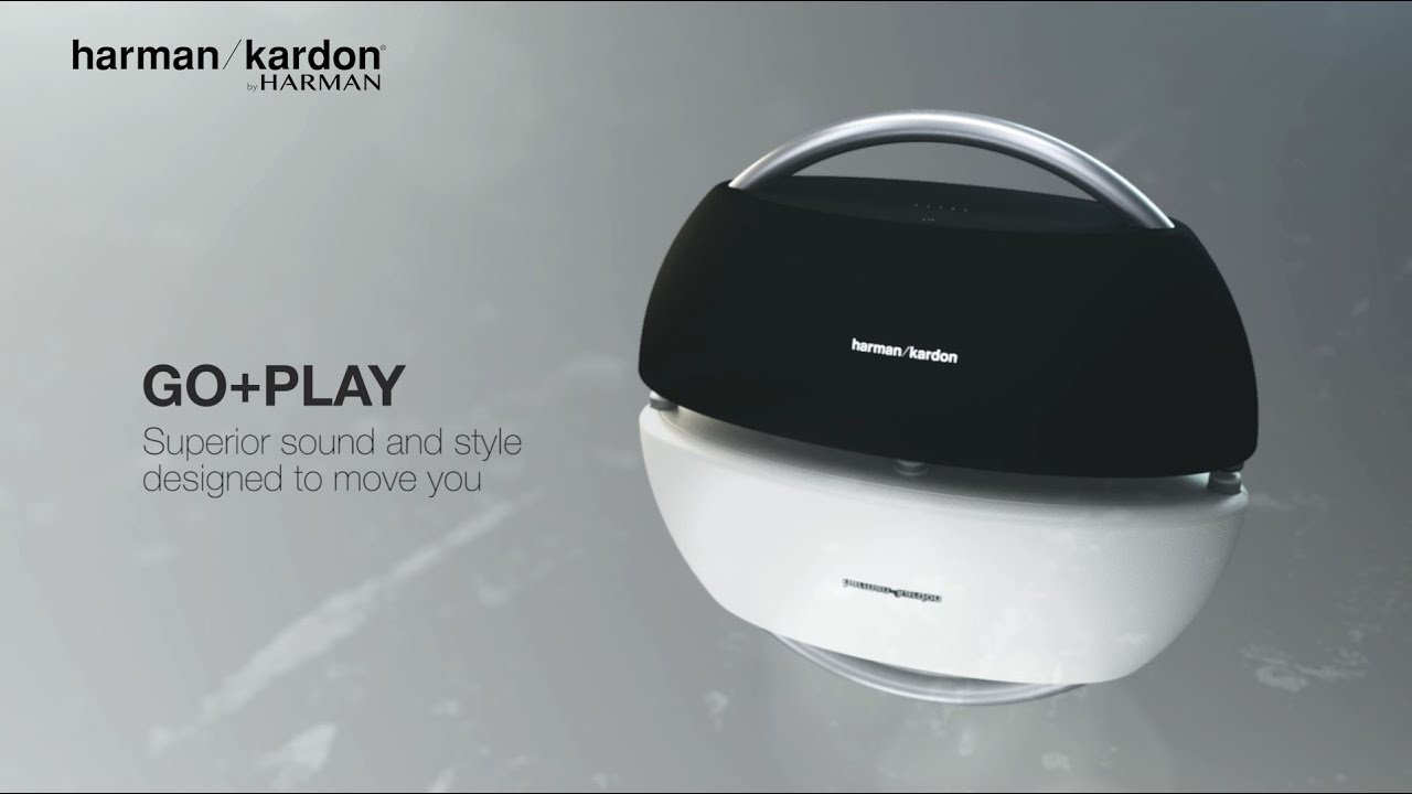 harman kardon go play portable bluetooth speaker with. Black Bedroom Furniture Sets. Home Design Ideas