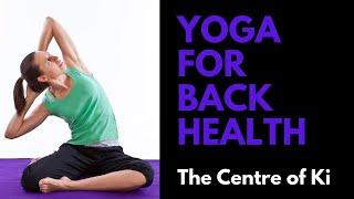 Yoga class: Back health