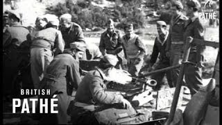 British And Greek Troops Against Communists (1947)