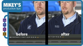 Remove a logo from clothing: After Effects Tutorial