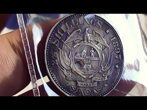 Psst... Tuvalu 2018 Antique Unicorn...and South Africa 2/6 plus ( 1 sovereign)
