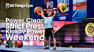 Strict Press Klokov Power Weekend with Dmitry Klokov 162kg