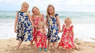Their First LUAU in HAWAII!