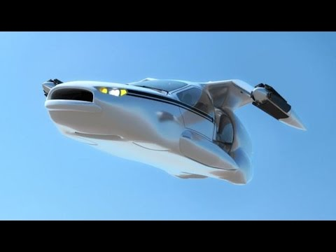 FLYING CAR Future Transportation -Traffic Will Soon Be In The Air!